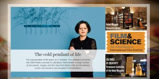 herta muller la Muzeul Nobel