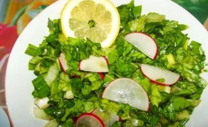 salata de menta
