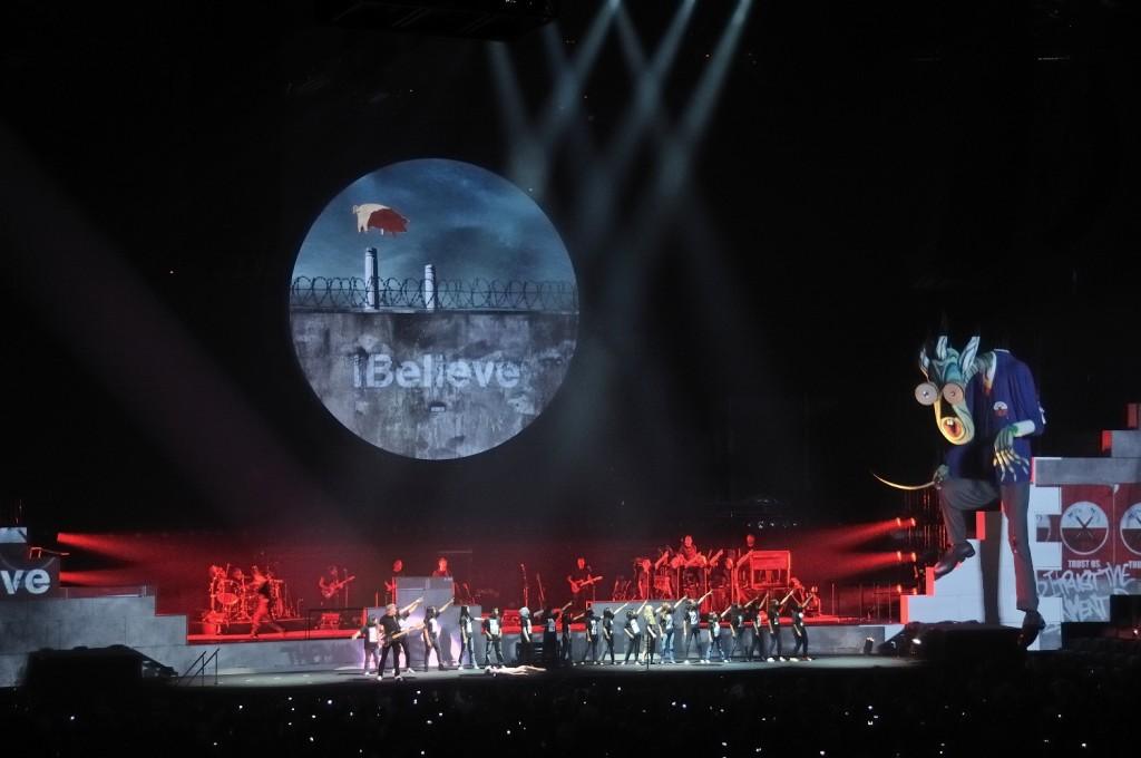 Roger Waters cu dom profesor foto