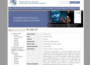 Miscarea Civica Militia spirituala 30 000 USD