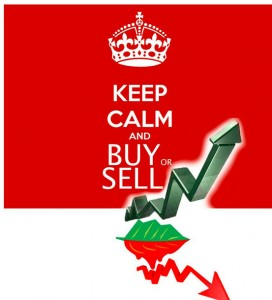 keep calm and buy or sell