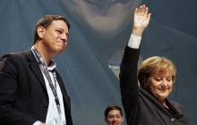 philipp missfelder & Angela Merkel