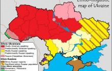 harta etnica a Ucrainei