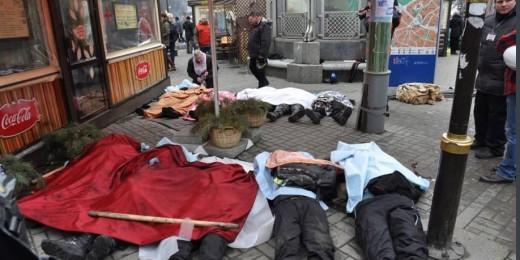 uncraina morti Maidan