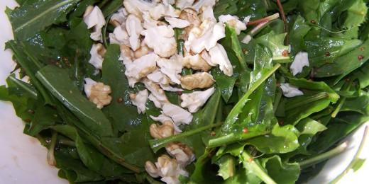 salata de papadie 2