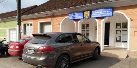 Porsche Cayen-ul lui Lala